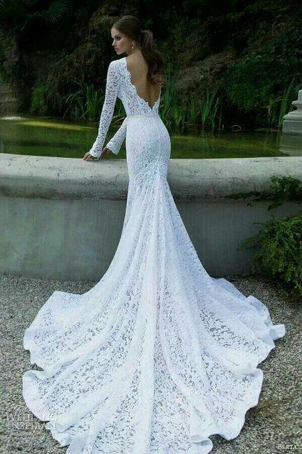 Vestidos de novia estilo sirena sencillos