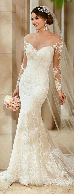 50ba5e3b1e Vestidos de novia estilo sirena - 3