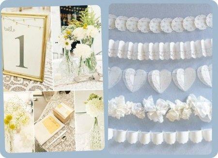 Decoracion blondas de papel fotos - Blondas de papel ...