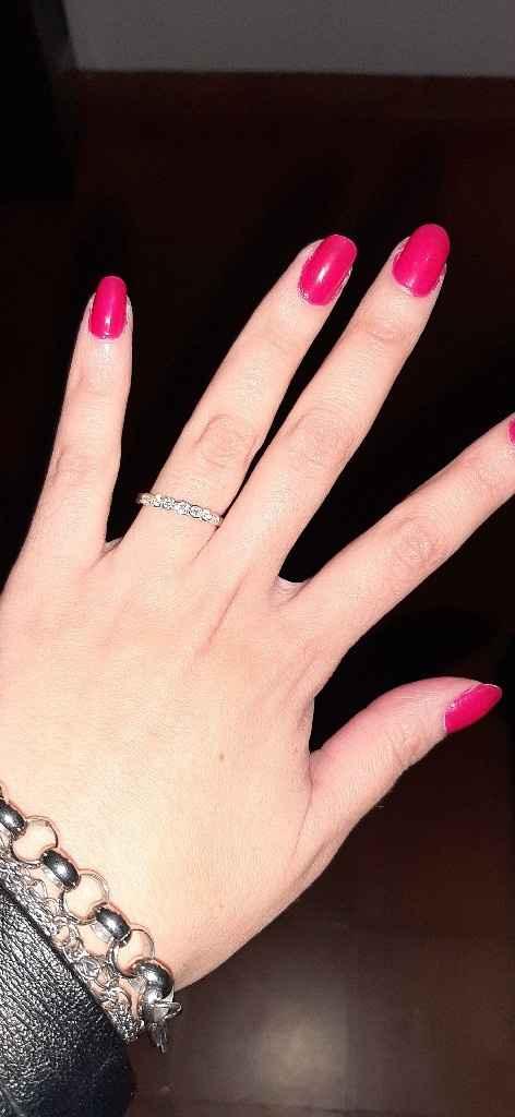 Las alianzas perfectas para el anillo de compromiso perfecto 💍❤ - 1