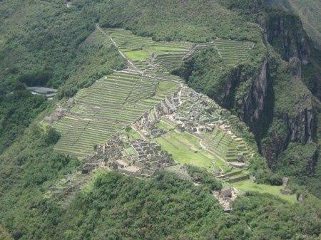 Vista desde el Waynapicchu