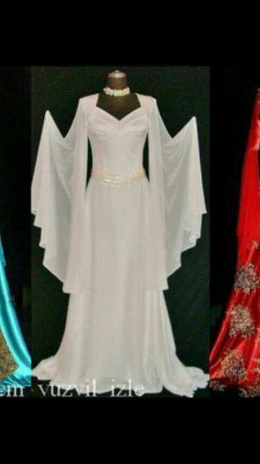 Vestidos de sultanas.... 1