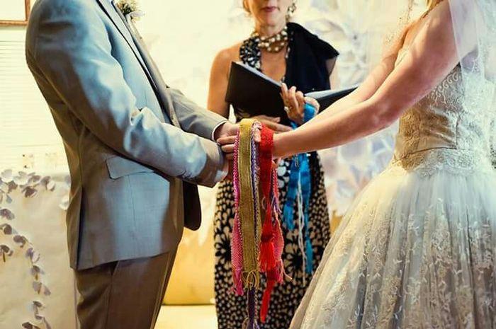 Ceremonia manos atadas... - 1