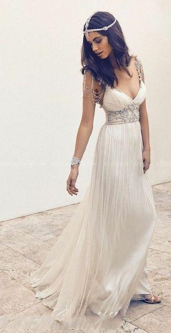 Vestidos de novia estilo egipcios (parte1) - 17