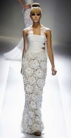 Vestidos de novia crochet - 3