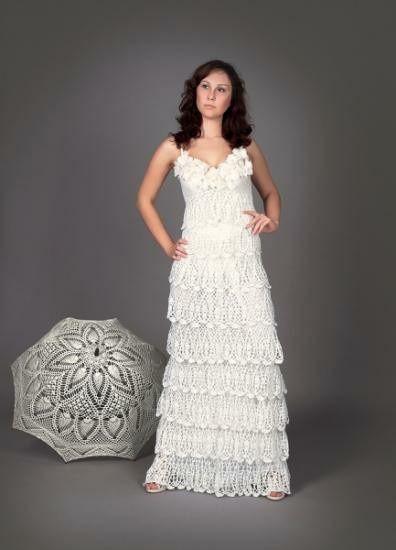 Vestidos de novia crochet - 4
