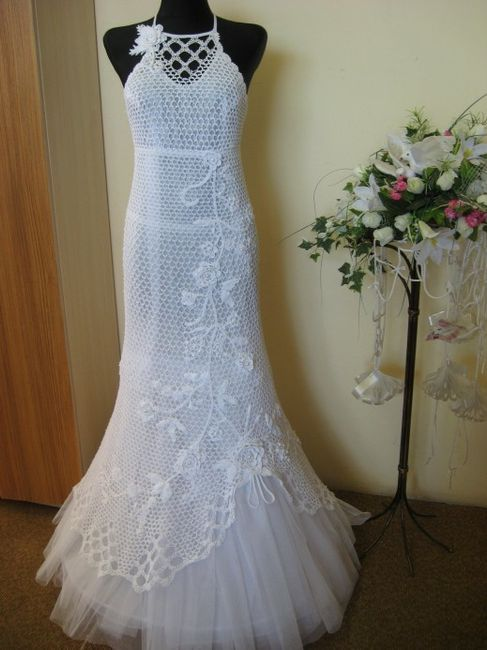 Vestidos de novia crochet - 5
