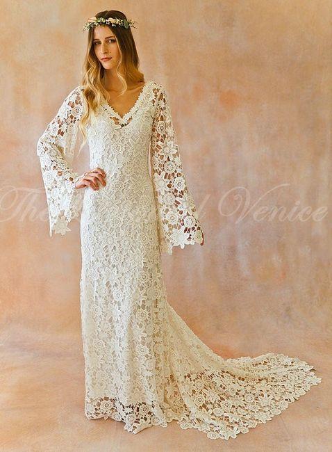 Vestidos de novia crochet - 6