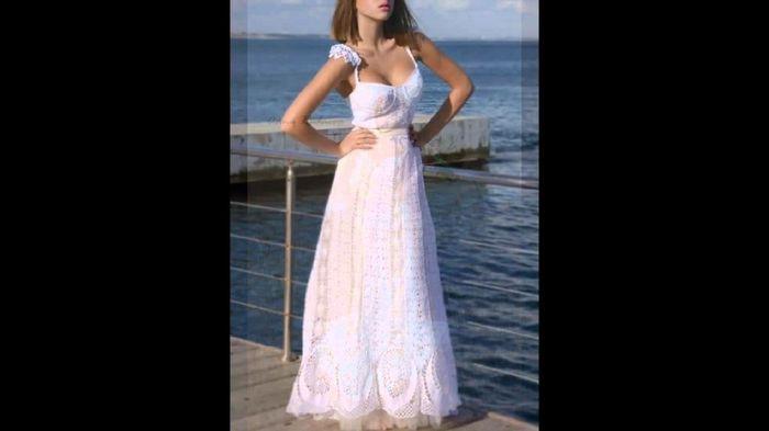 Vestidos de novia crochet - 9