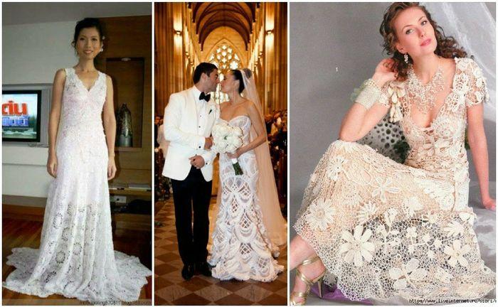 Vestidos de novia crochet - 10