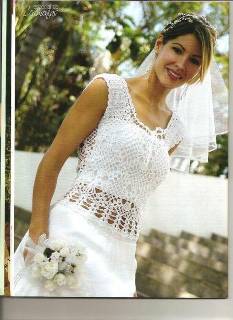 Vestidos de novia crochet - 11