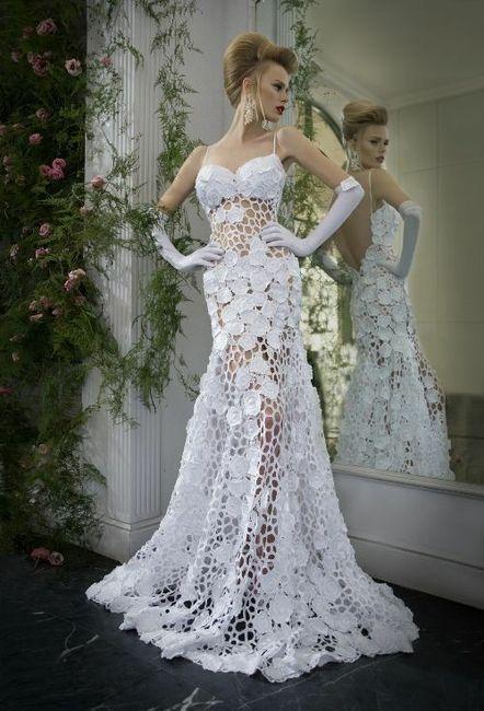 Vestidos de novia crochet - 12