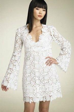 Vestidos de novia crochet - 14