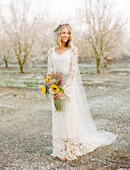Vestidos de novia crochet - 15