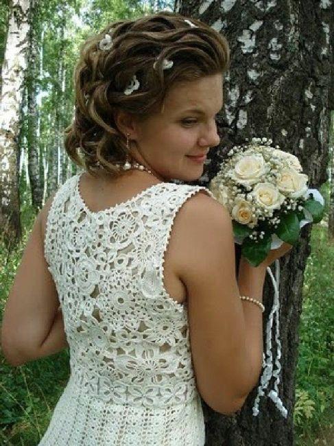 Vestidos de novia crochet - 18