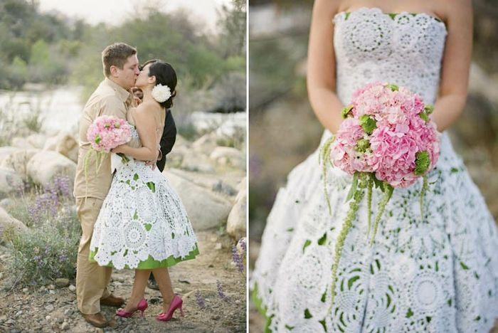Vestidos de novia crochet - 19