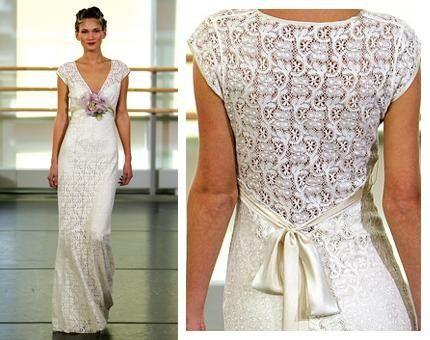 Vestidos de novia crochet - 21