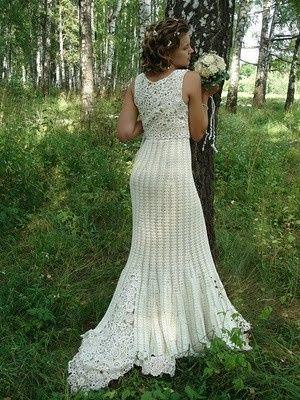 Vestidos de novia crochet - 22