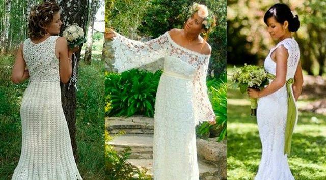 Vestidos de novia crochet - 23