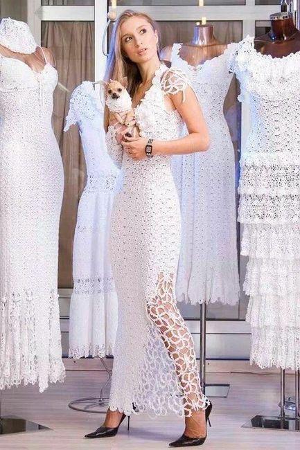 Vestidos de novia crochet - 24