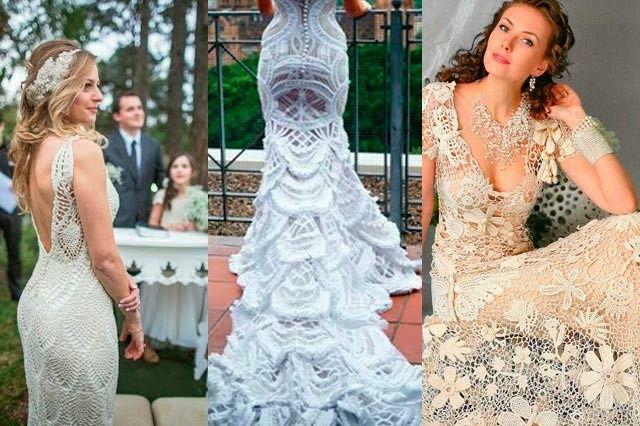 Vestidos de novia crochet - 27