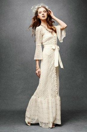 Vestidos de novia crochet - 28