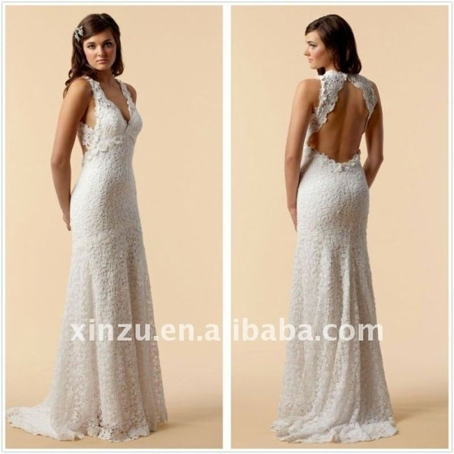 Vestidos de novia crochet - 31