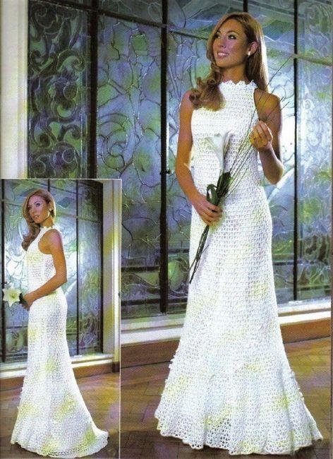 Vestidos de novia crochet - 32