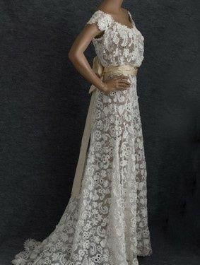 Vestidos de novia crochet - 33