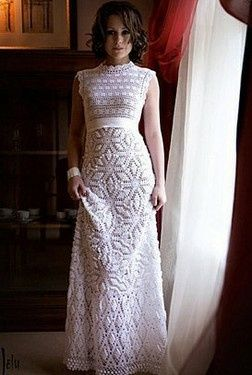 Vestidos de novia crochet - 34