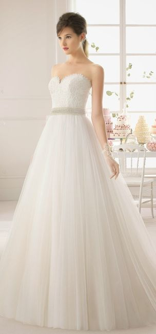 Vestidos de novia de aire barcelona 2015