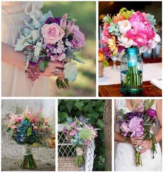 Flores, preciosas y naturales.