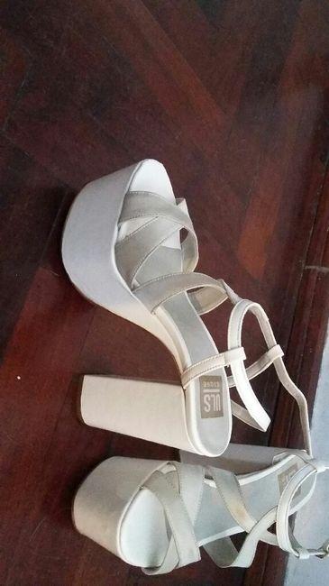 ¿Qué tacos tienen tus zapatos de novia? - 1