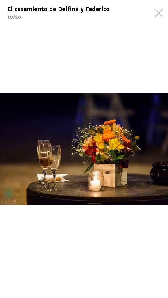 Mi nombre es Florencia y mi boda tendra una mezcla de elegante con campestre - 2