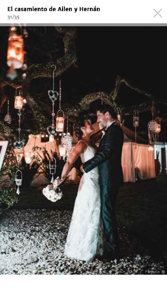 Mi nombre es Florencia y mi boda tendra una mezcla de elegante con campestre - 4