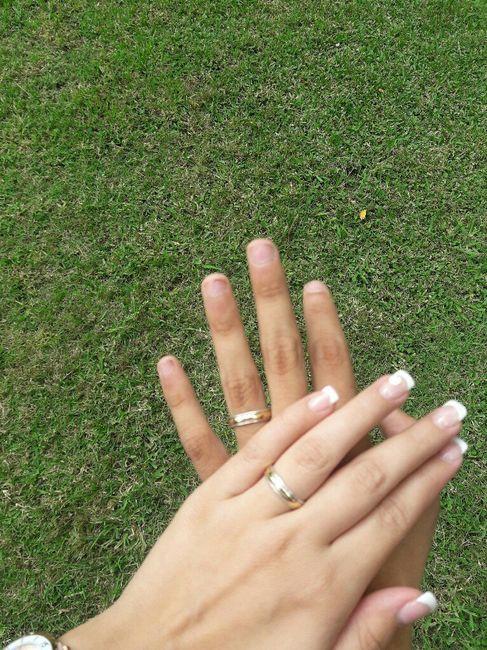 ¿Cuánto hace que se comprometieron? 2