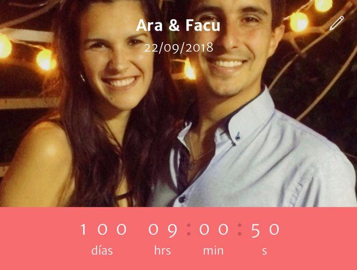 100 días ❤️ - 1