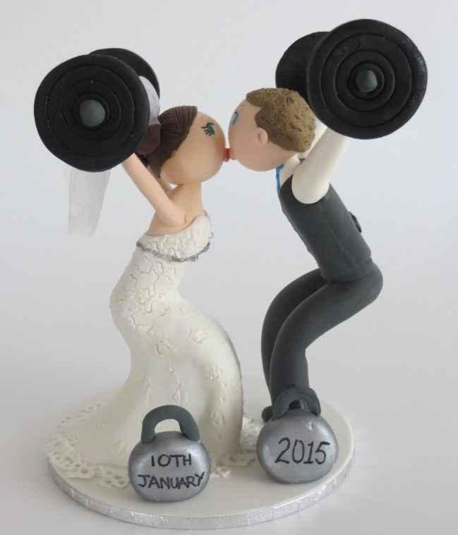2. Novios amantes del gym