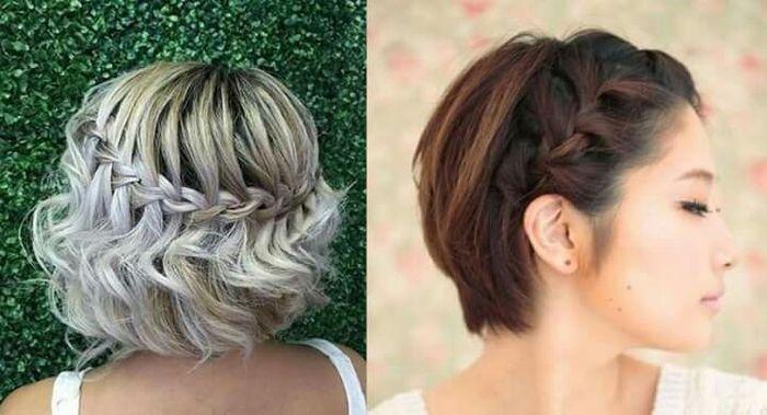 Peinados faciles para chicas de cabello corto