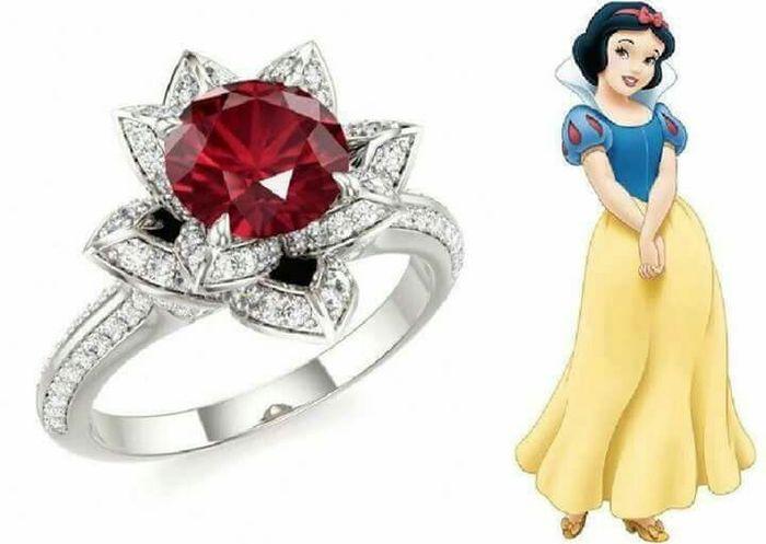 ¡Anillos inspirados en princesas Disney! 😍💍 1
