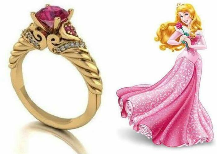¡Anillos inspirados en princesas Disney! 😍💍 2