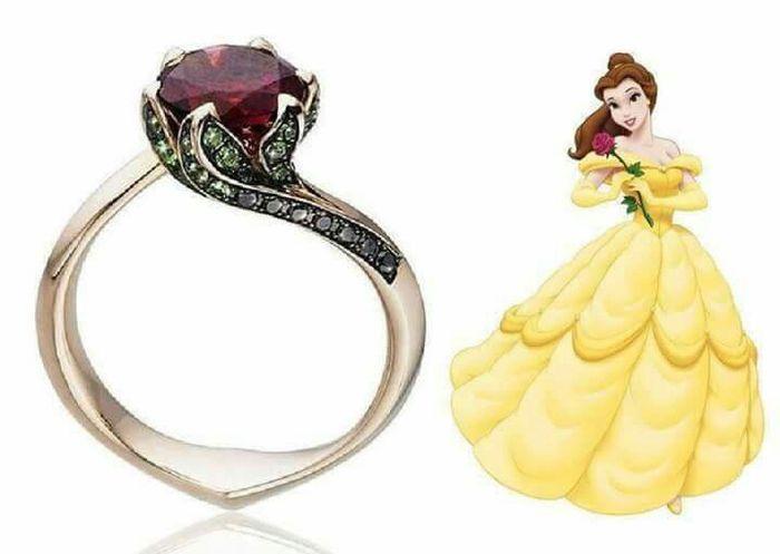 ¡Anillos inspirados en princesas Disney! 😍💍 8