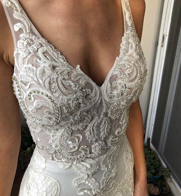 Me gustaría llevar un vestido _____ 3