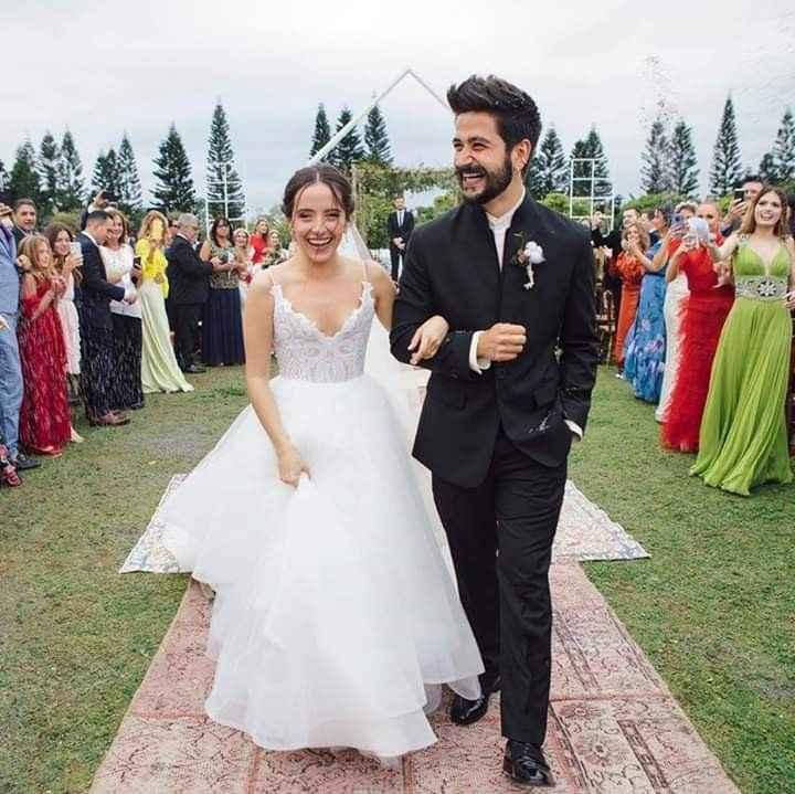 Casamiento de Evaluna y Camilo - 1
