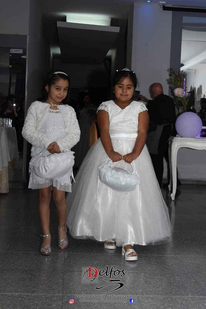 El vestido de las hijitas de las novias: ¿similar al de la Novia o Distinto? - 1