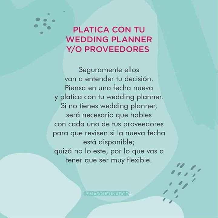 Recomendaciones a los que se casan en tiempos de pandemia.. - 8