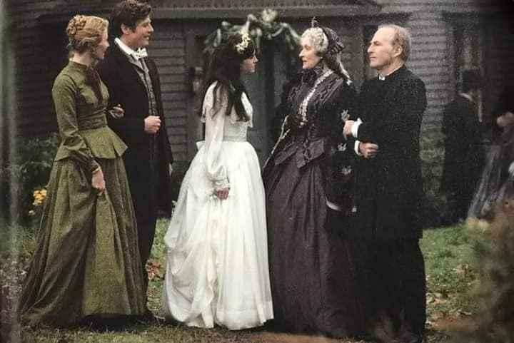El casamiento de Meg ( Mujercitas) - 1
