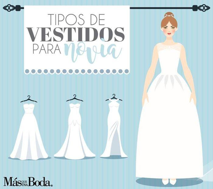 El vestido de novia perfecto según tu tipo de cuerpo. ¿qué modelo vas a usar vos? 1