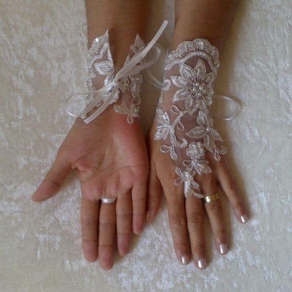 Guantes para novias. (atención novias elegantes y vintages). 23