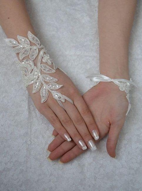 Guantes para novias. (atención novias elegantes y vintages). 24